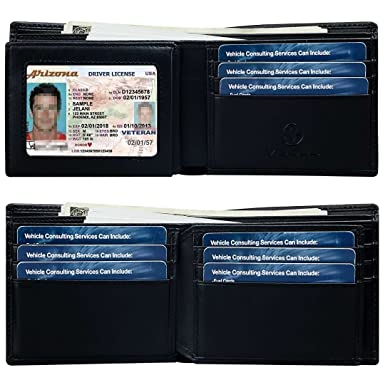 5243d454d55e1 Men s Bifold Wallet with RFID Blocking Protection