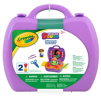 Crayola Modelling Dough and Carry Case Mobile Salon
