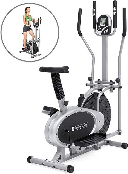 Best Choice Products Bicicleta elíptica 2 en 1 Máquina de Entrenamiento para Cruz Mejorado Modelo: Amazon.es: Deportes y aire libre