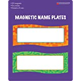 """Dowling Magnets DO-735205 Magnetic Name Plates, 0.19"""" Height, 8.75"""" Wide, 7"""" Length (20 per Package)"""
