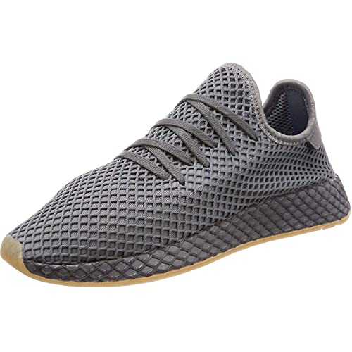 best sneakers 49019 8c43e Adidas Originals Deerupt Runner J Grey Three Textile 38 23 EU Amazon.es  Zapatos y complementos