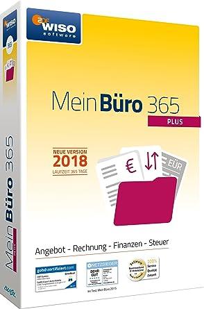 Buhl Data Wiso Mein Büro 365 2018 Plus Frustfreie Verpackung