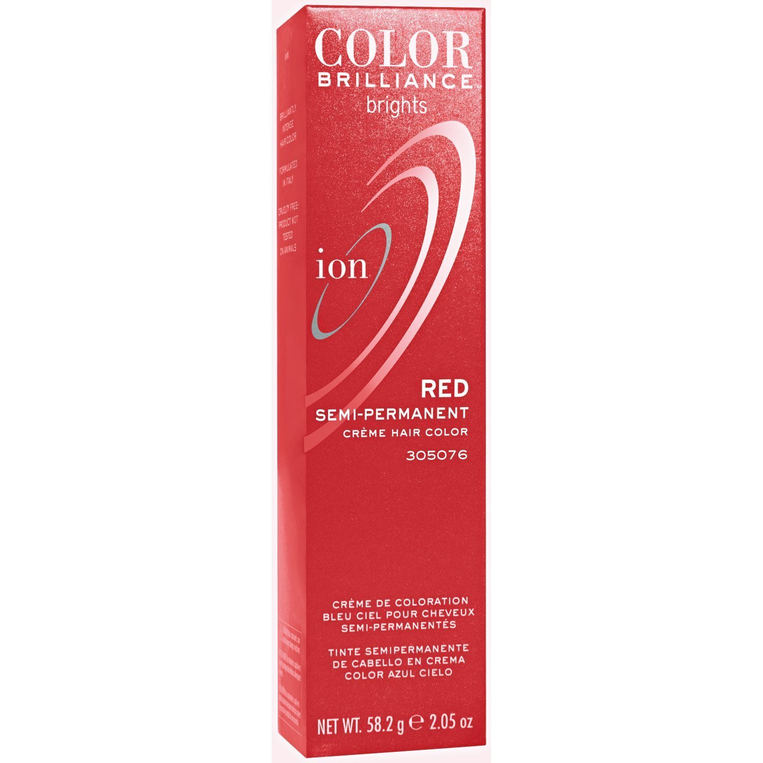 Amazon Ion Red Semi Permanent Hair Color Red Chemical Hair