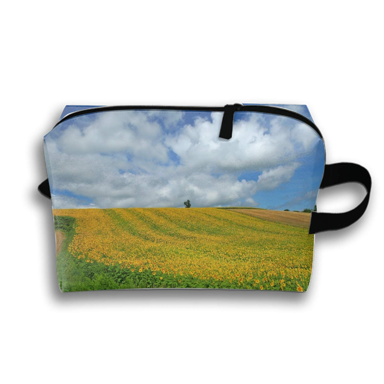Sunflower Waterproof Nylon Organizer for Travel Accessories