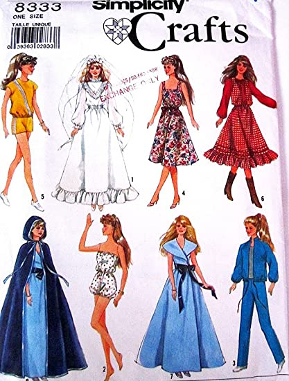 Amazon Simplicity 8333 Vintage 80s Sewing Pattern 115 Fashion