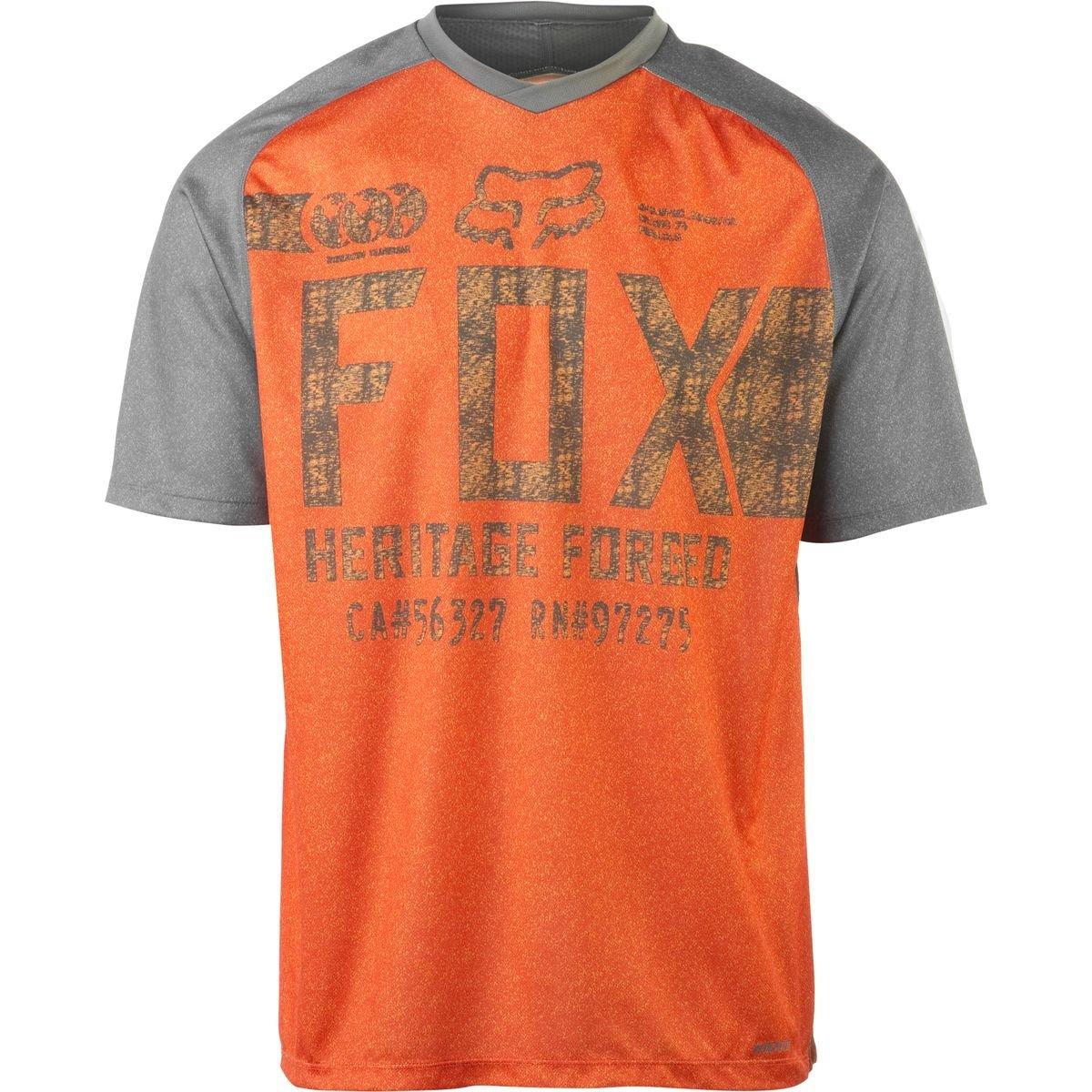 Fox Racing Indicator Limited Edition Jersey - Short Sleeve - Men's Charcoal/Orange, XL