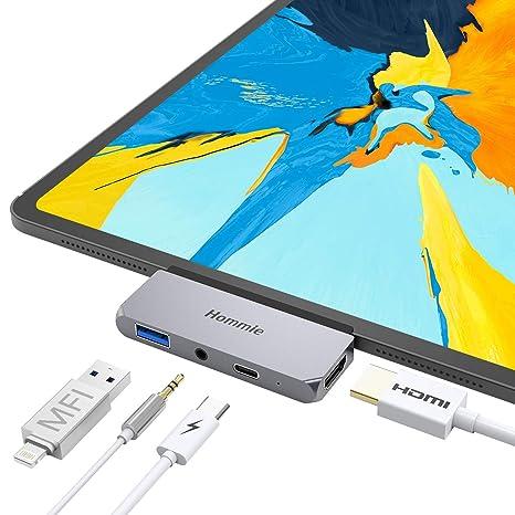 Amazon.com: Hommie - Hub para iPad Pro y MacBook Pro (2018 ...