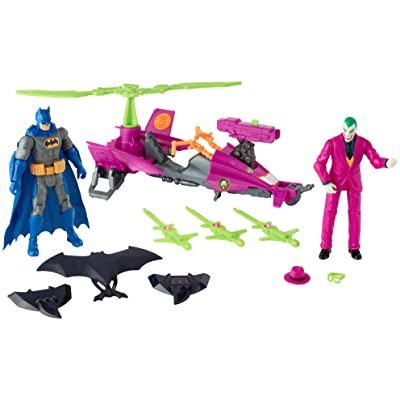 DC Comics Batman Missions: Batman vs The Joker Pack: Toys & Games