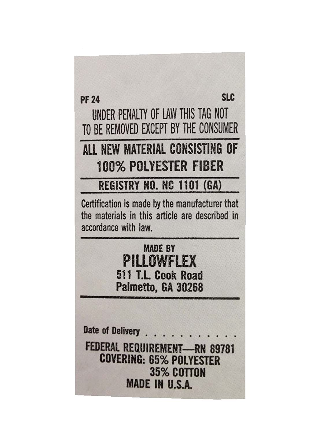10-Inch by 10-Inch Pillowflex 10x10PC Pillow Form Insert Machine Washable