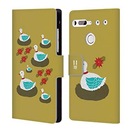 Head Case Designs Geese A Laying 12 Days Of Christmas Leather Book Wallet Case Cover For