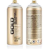Montana latas 285257Spray 400ml dorado, gld4007010–Mármol