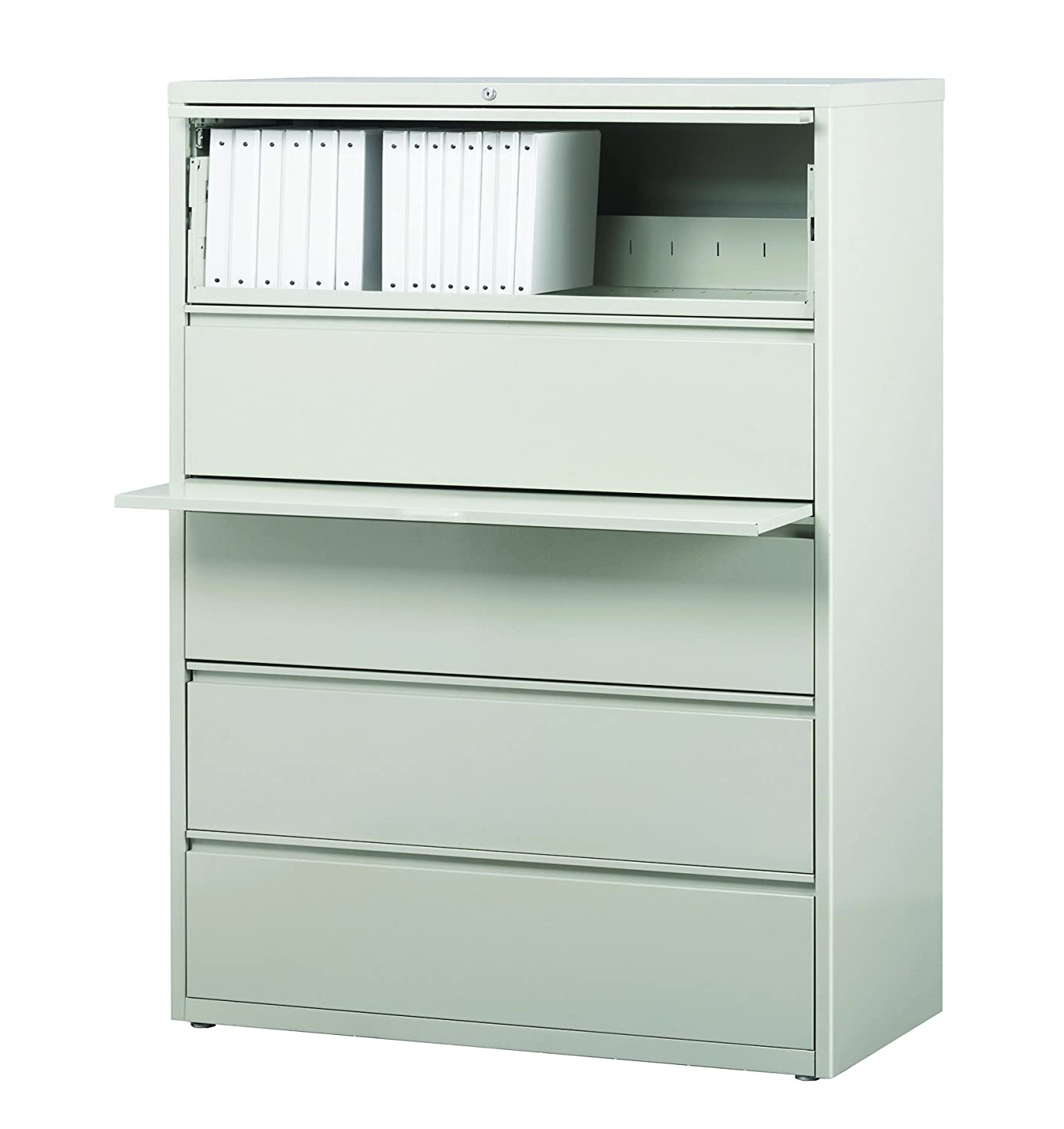Amazon Com Pro Series Five Drawer Lateral File Cabinet Light