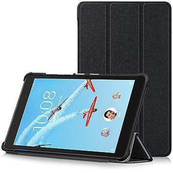 TTVie Funda para Lenovo Tab E8, Carcasa Ultra Delgado y Ligero con Cubierta de Soporte para Lenovo Tab E8 TB-8304F - Tablet de 8