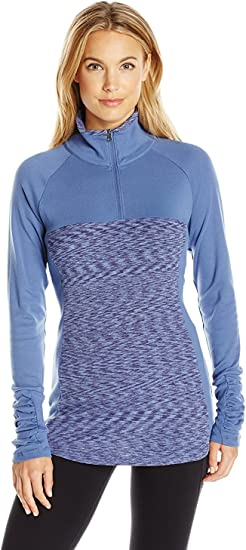 NEW Columbia Women/'s Glacial Fleece III 1//2 Zip Choose SZ Bluebell//Nightshade
