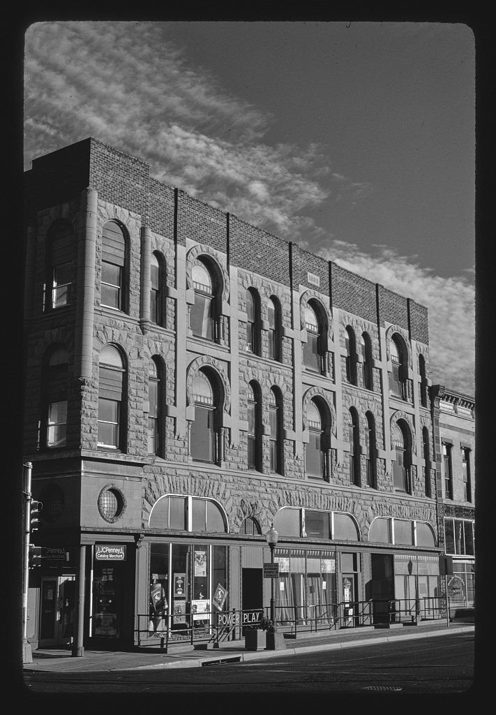 8 x 12 BW Photo of: West Hotel 1899 Main Street, Trinidad, Colorado 1991 Roadside America Margolies, John, photographer 34z