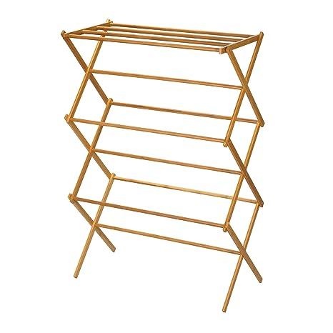 Amazon.com: Household Essentials 6524 - Tendedero de madera ...