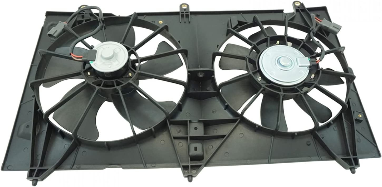 Dual Cooling Fan for 03-07 Honda Accord 2.4L w/Nippondenso Radiator