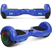 """$105 » UNI-SUN Hoverboard for Kids, 6.5"""" Self Balancing Hoverboard with Bluetooth and LED Lights, Bluetooth Hover Board"""