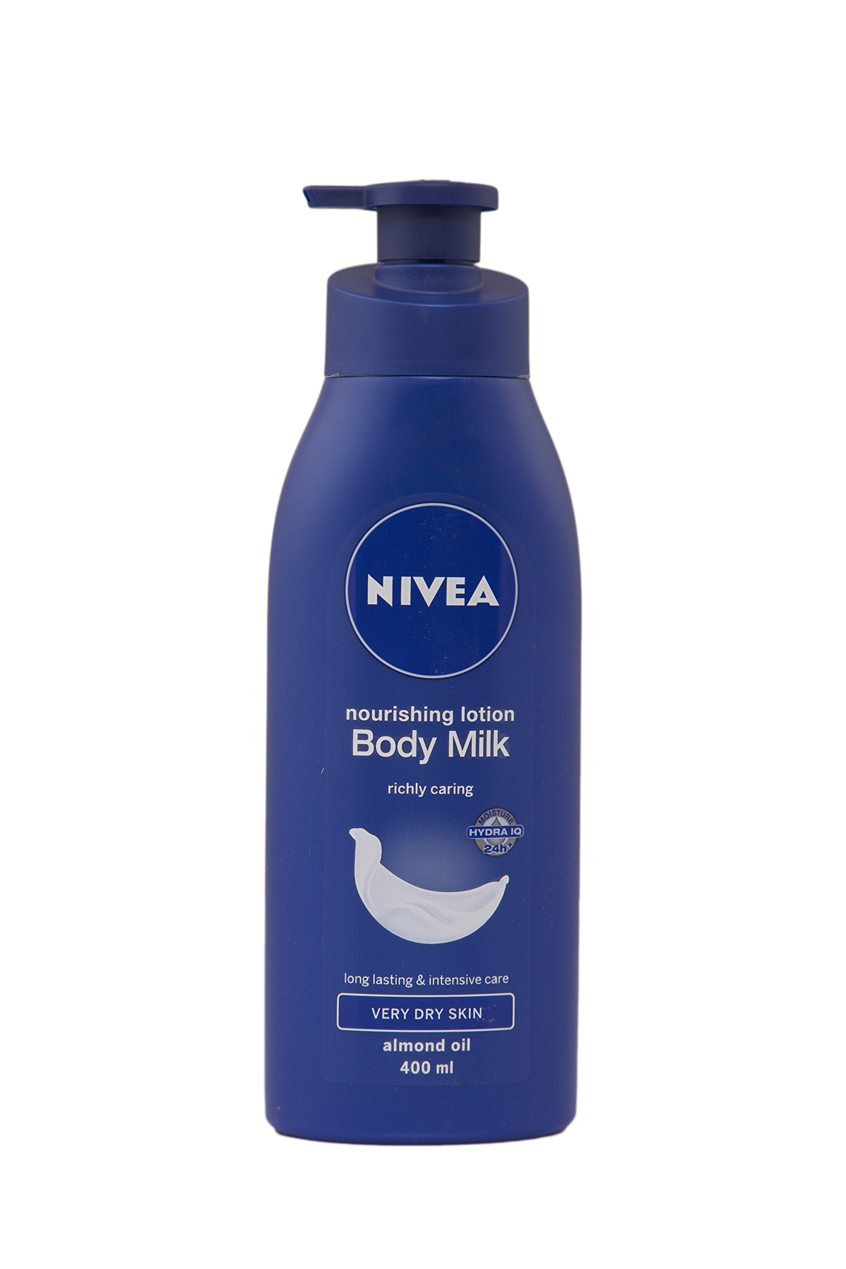 Nivea Nourishing Lotion Body Milk with Deep Moisture Serum and 2x Almond Oil for Very Dry Skin, 400ml product image