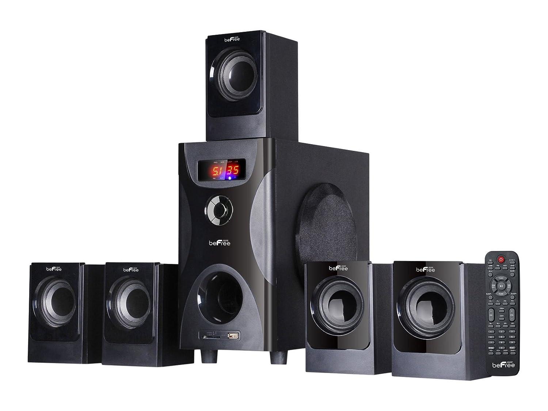 Amazon.com: BEFREE SOUND BFS-425 Surround Sound Bluetooth Speaker System –  Black: Home Audio & Theater