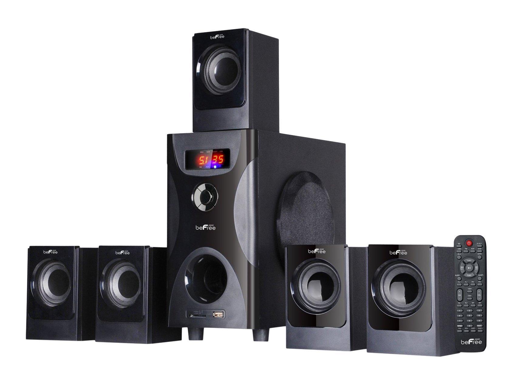 BEFREE SOUND BFS-425 Surround Sound Bluetooth Speaker System - Black by beFree Sound