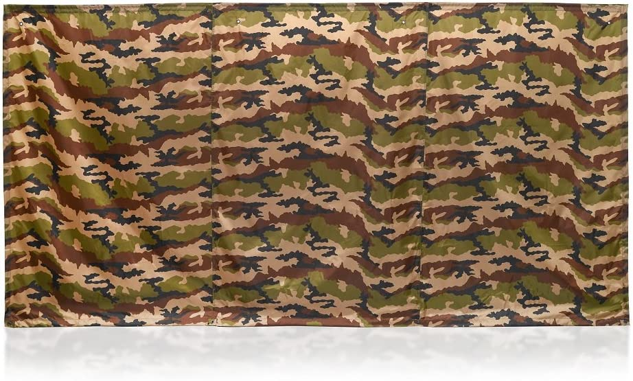 WallUp! The Instant Outdoor Privacy Screen, 6-feet High by 12-feet Wide, Camo