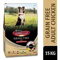Supercoat Adult Dog Grain Free Chicken, 15kg