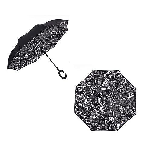 7245e59ff0e3 Amazon.com : Spring Moon SportingGoods Creative double umbrella ...