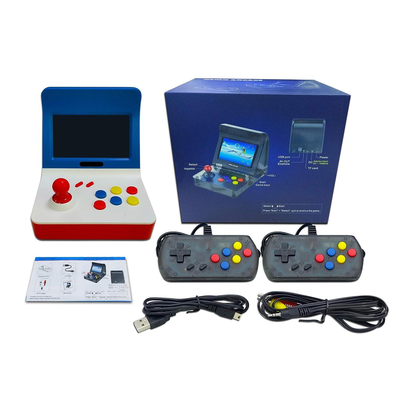 Consola de Juegos Retro Game Console 3 Pulgadas 520 Juegos Videojuegos Port/átil Anbernic Consolas de Juegos Port/átil Transparent Negro