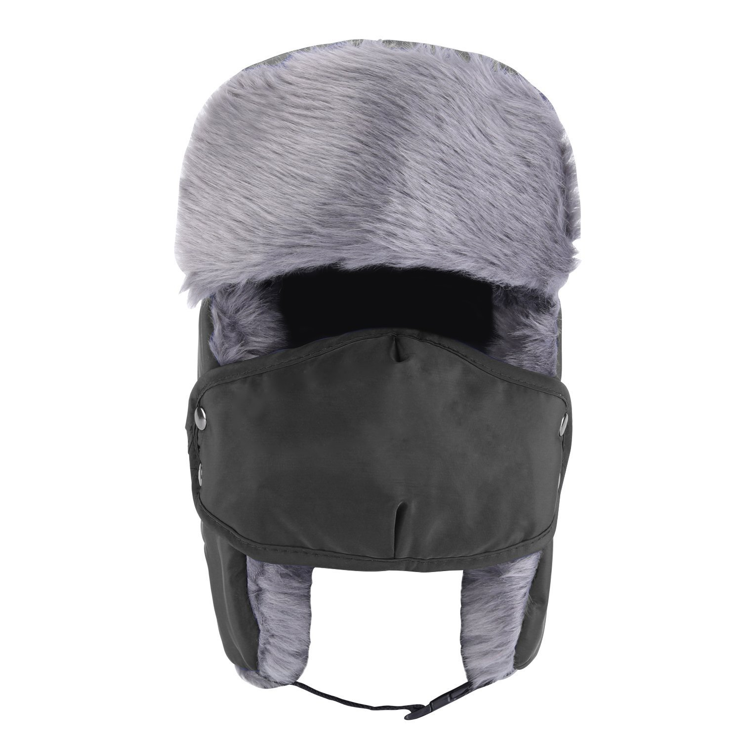 01e847f3a Amazon.com: M.E.R.A. Hippie Winter Trooper Trapper Hat, Hunting Hat ...