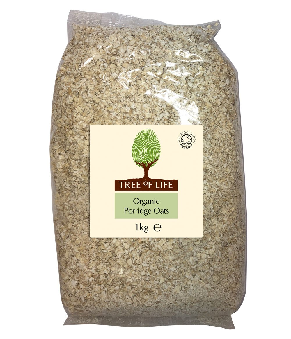 Tree of Life Organic Porridge Oats 1 Kg (Pack of 6) 85349