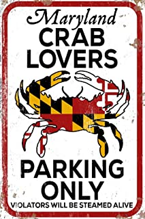 product image for Maryland - Crab Lovers Parking Only 86133 (24x36 SIGNED Print Master Art Print - Wall Decor Poster)