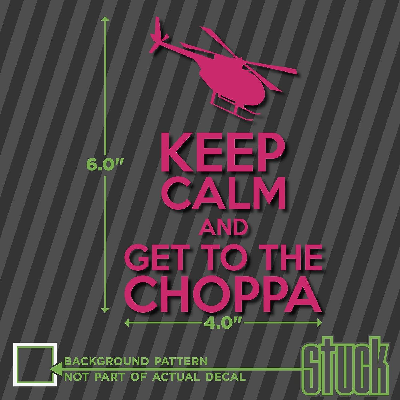 【まとめ買い】 Keep 0317 Calm ホットピンク and Get to the Choppa - 4 -