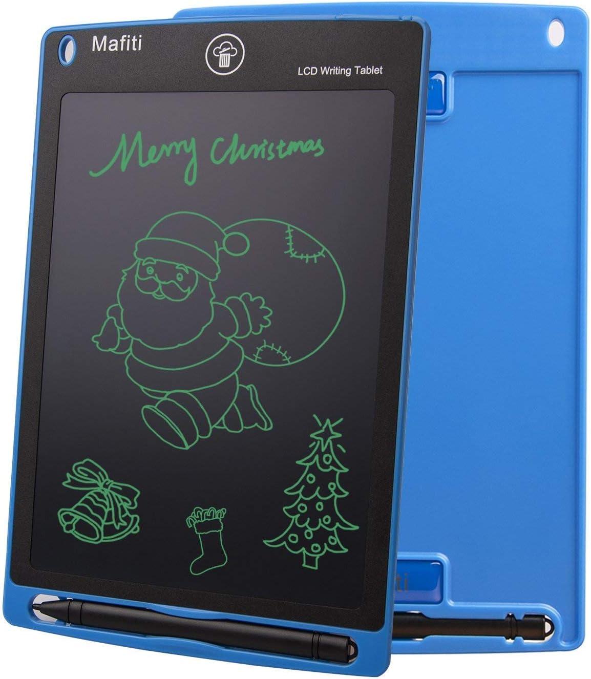 Mafiti 8,5 Pulgadas Tableta Gráfica, Tablets de Escritura LCD, Portátil Tableta de Dibujo Adecuada para el hogar, Escuela, Oficina, (Blue)