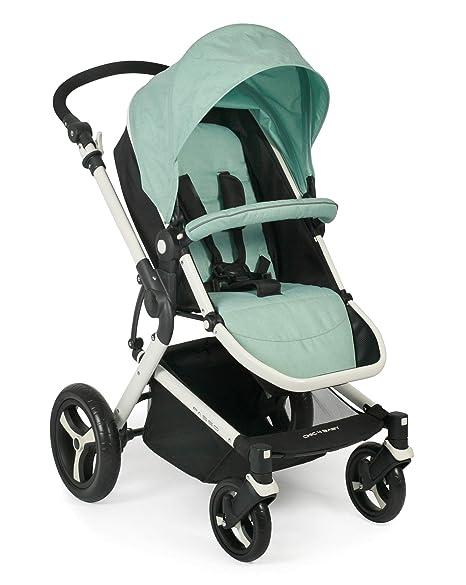 inklusive Babywanne mint Sportsitz und Maxi-Cosi Adapter gr/ün CHIC 4 BABY 163 66 Kombi-Kinderwagen Passo