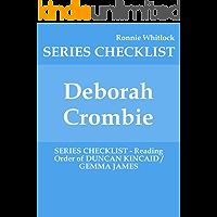 Deborah Crombie - SERIES CHECKLIST - Reading Order of DUNCAN KINCAID / GEMMA JAMES
