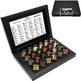 Hallingers FROHE WEIHNACHTEN Tee Advent 24, Black   Set/Mix   24x Miniglas in Deluxe-Box   240g