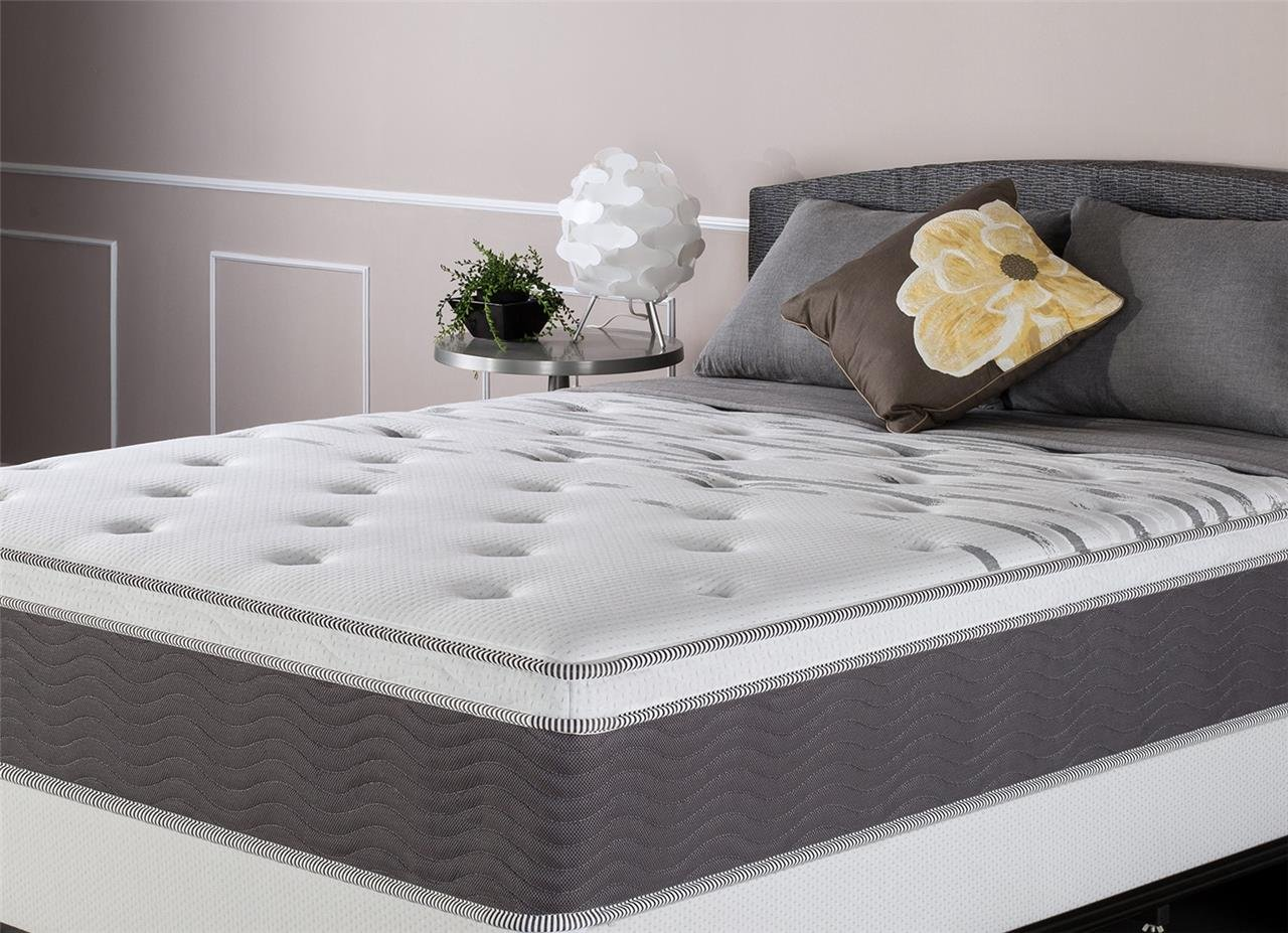 Zinus Extra Firm 12 Inch Big & Tall Support Plus Spring Mattress