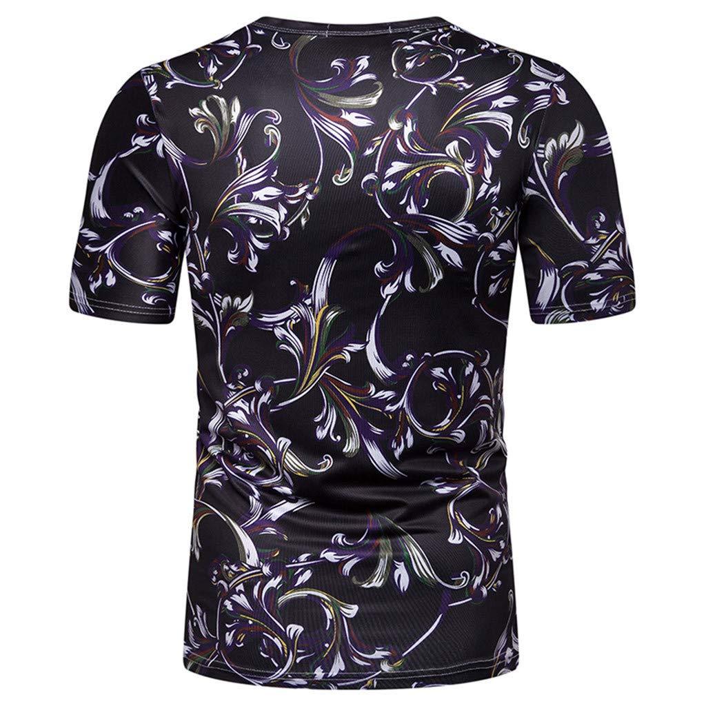 Camisetas Hombre Originales Rotos Irregular Diseñar Verano ...