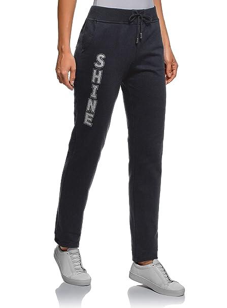 585d269d25078b oodji Ultra Donna Pantaloni in Maglia con Coulisse: Amazon.it: Abbigliamento