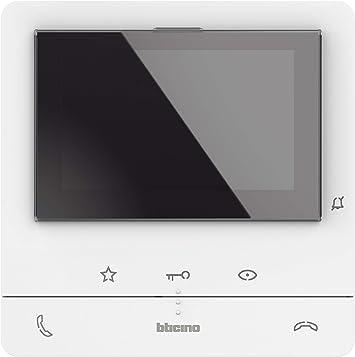 Wei/ß Bticino Classe 100 V16B Malet/ín 16 Centimeters Blanco
