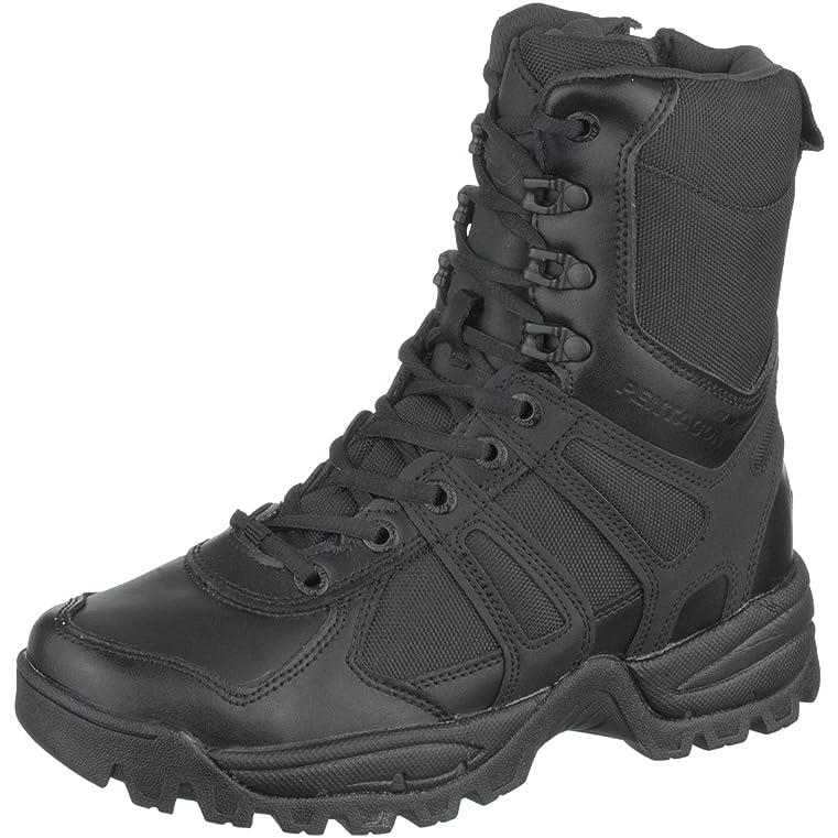 Men's Scorpion Zip Boots Black