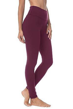 d13d5479b4 Queenie Ke Women Yoga Leggings Pants Workout Running Peach Hip: Amazon.co.uk:  Clothing