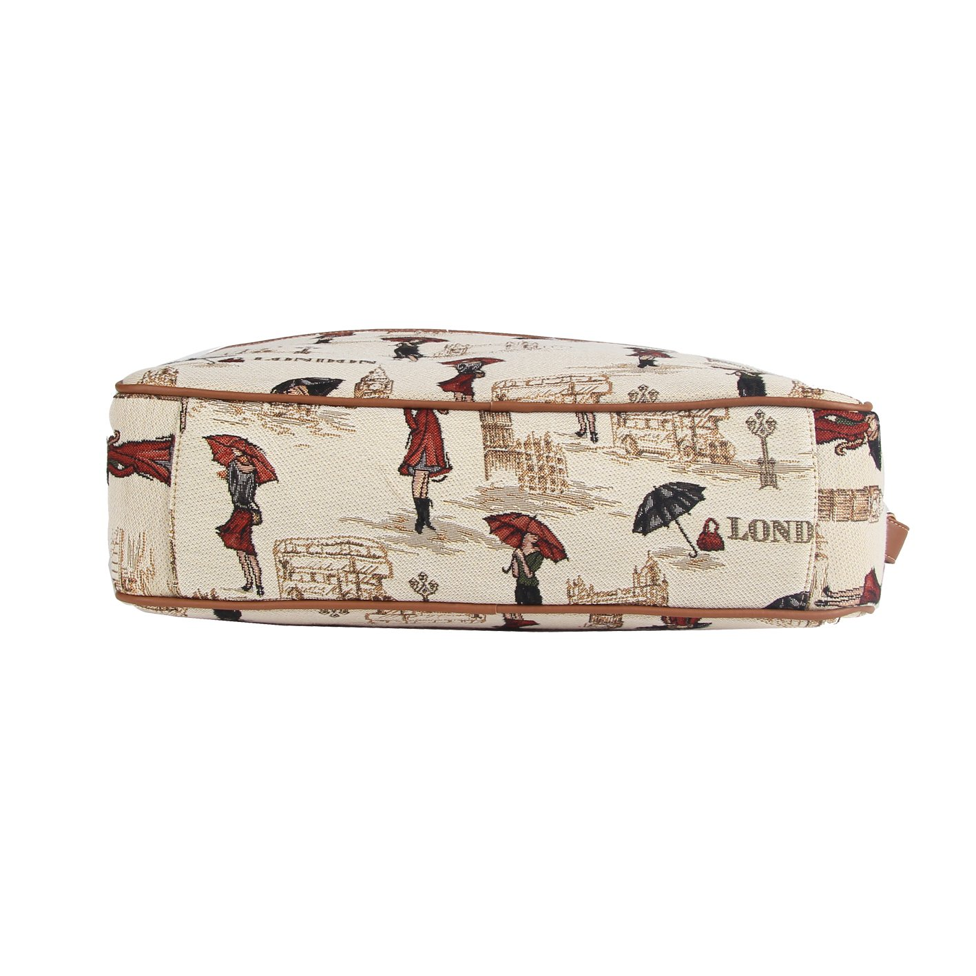 SIGNARE Malet/ín tapiz moda para mujer bolsa para port/átil 15,6 e/ñorita Londres