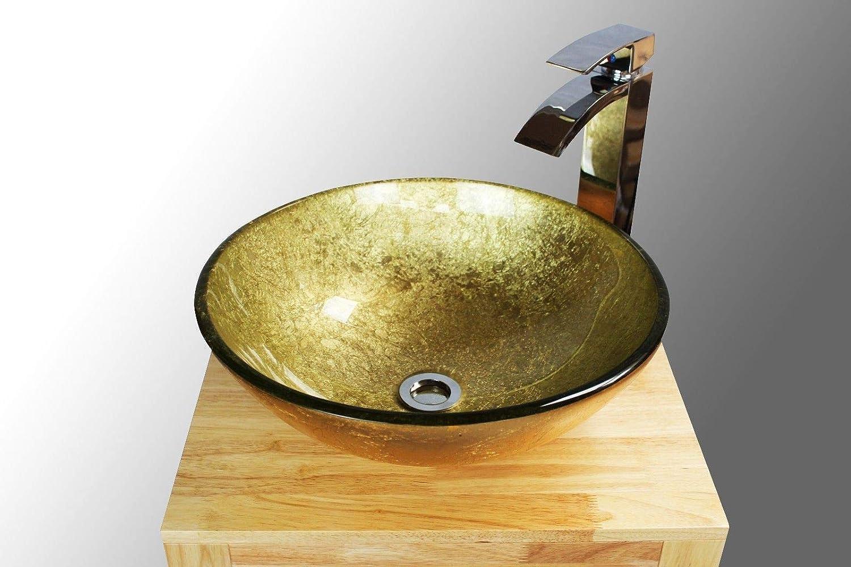 cristal dorado Lavabo Home Supplies