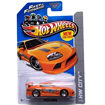 Hot Wheels 2013 Hw City - Toyota Supra - Fast & Furious: Toys & Games