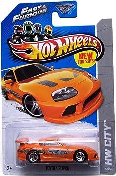 2013 Hot Wheels Hw City - Toyota Supra - Fast & Furious by Mattel ...