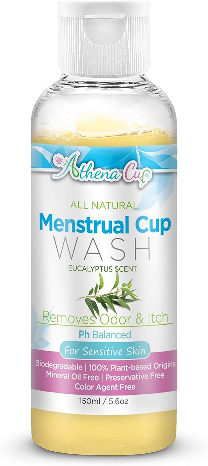 Athena multiusos, hipoalergénico Copa Menstrual Wash: Amazon.es ...
