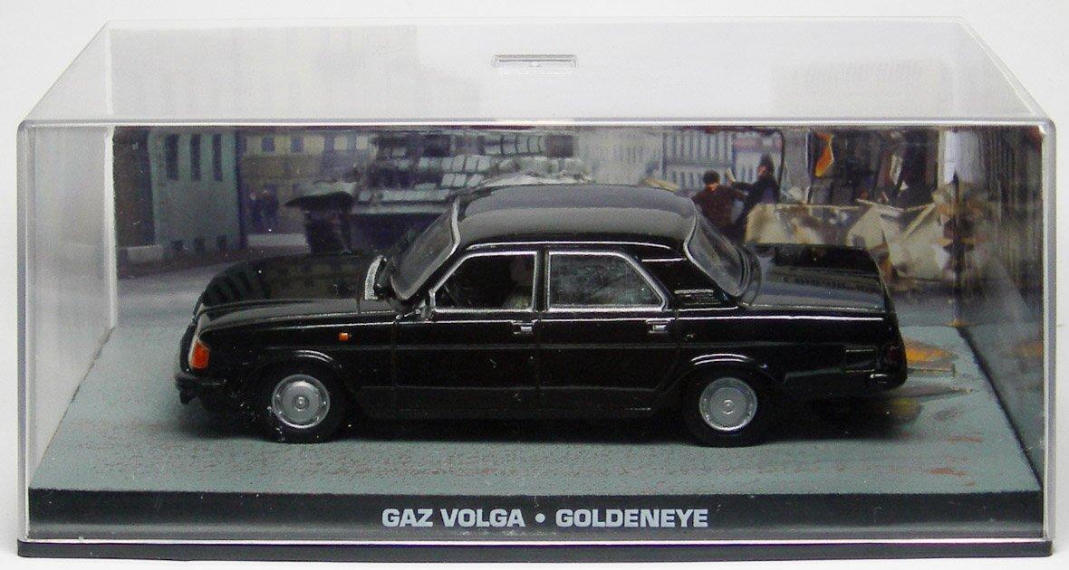 GAZ VOLGA GOLDENEYE 1:43 007 James Bond Diecast modelcar