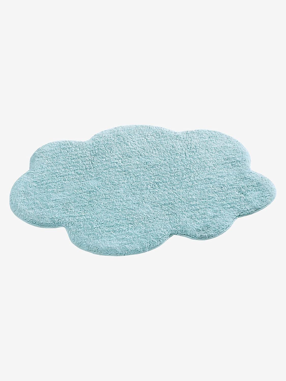 VERTBAUDET Alfombra Nube, algodón, Rosa Claro, Talla única